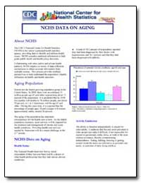 Nchs Data on Aging by Department of Health and Human Services