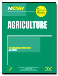 Agriculture : Niosh Research Projects, A... by Department of Health and Human Services