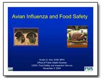 Avian Influenza and Food Safety by Holt, Kristin G.