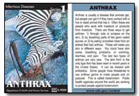 Anthrax : Infectious Disease Series 1 by Department of Health and Human Services