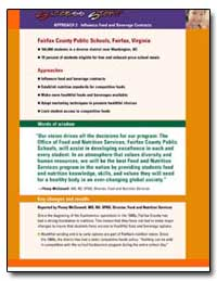 Approach 2 Influence Food and Beverage C... by Department of Health and Human Services