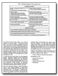Variables Considered in the Simulation M... by Department of Health and Human Services
