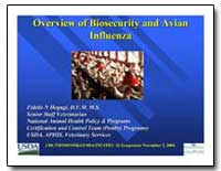 Overview of Biosecurity and Avian Overvi... by Hegngi, Fidelis N.