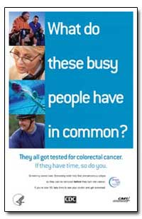 What Do People Have These Busy They All ... by Department of Health and Human Services