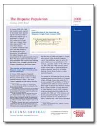The Hispanic Population Census 2000 Brie... by Department of Health and Human Services