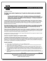 Securite en Cas de Desastre by Department of Health and Human Services