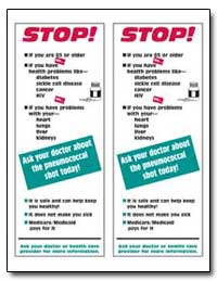 Stop : Ask Your Doctor about the Pneumoc... by Department of Health and Human Services