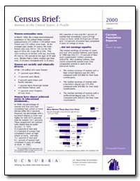 Census Brief : Women in the United State... by Department of Health and Human Services