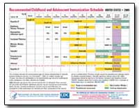 Recommended Childhood and Adolescent Imm... by Department of Health and Human Services