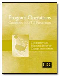 Program Operations Guidelines for Std Pr... by Department of Health and Human Services