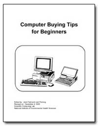 Computer Buying Tips for Beginners by Department of Health and Human Services