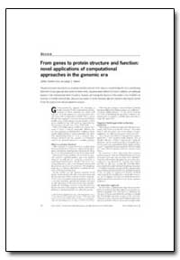 From Genes to Protein Structure and Func... by Skolnick, Jeffrey