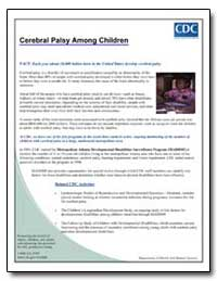 Cerebral Palsy Among Children by Department of Health and Human Services