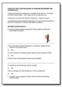 Checklist Per L'Individuazione Dl Proble... by Department of Health and Human Services