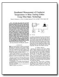 Distributed Measurement of Conductor Tem... by Dubaniewicz, Thomas H., Jr.