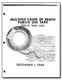 Multiple Cause of Death Public Use Tape by Department of Health and Human Services