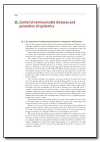 Control of Communicable Diseases and Pre... by Department of Health and Human Services