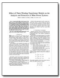 Effect of Three-Winding Transformer Mode... by Oommen, Mathew P.