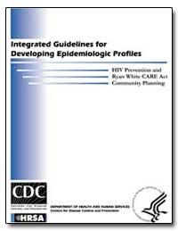 Integrated Guidelines for Developing Epi... by Department of Health and Human Services