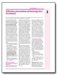 Effective Prevention of Hearing Loss in ... by Grayson, R. Larry, Ph. D.
