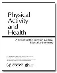 Physical Activity and Health by Shalala, Donna E.