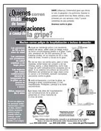 Quienes Corren Mas Riesgo de Tener Compl... by Department of Health and Human Services