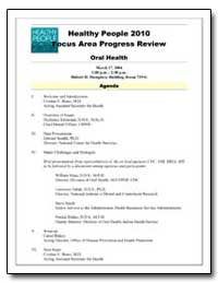 Focus Area Progress Review Healthy Peopl... by Department of Health and Human Services