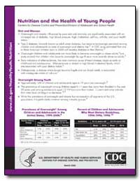 Nutrition and the Health of Young People by Department of Health and Human Services