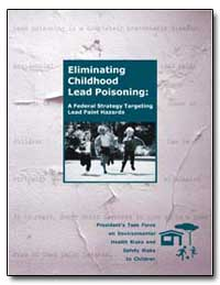 Eliminating Childhood Lead Poisoning : A... by Department of Health and Human Services