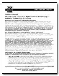 Mga Dapat Malaman Impormasyon Tungkol Sa... by Department of Health and Human Services