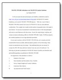 Nhanes 1999-2000 Addendum to the Nhanes ... by Department of Health and Human Services