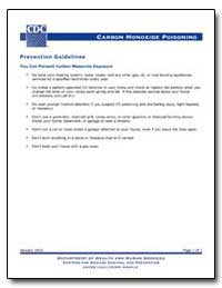 Prevention Guidelines You Can Prevent Ca... by Department of Health and Human Services