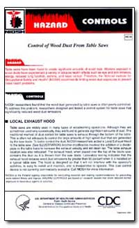Niosh Hazard Controls : Control of Wood ... by Department of Health and Human Services