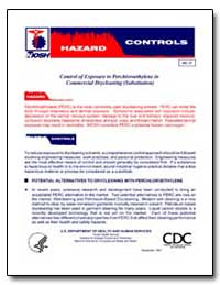 Control of Exposure to Perchloroethylene... by Department of Health and Human Services