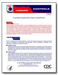 Controlling Cleaning-Solvent Vapors at S... by Department of Health and Human Services