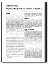 Aasld Practice Guidelines : Diagnosis, M... by Strader, Doris B.