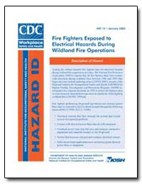 Fire Fighters Exposed to Electrical Haza... by Department of Health and Human Services