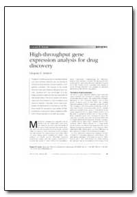 High-Throughput Gene Expression Analysis... by Lennon, Gregory G.
