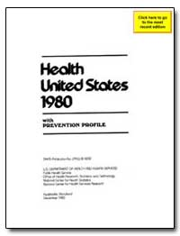 Health : United States, 1980 by Harris, Patricia R.
