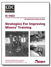 Strategies for Improving Miners' Trainin... by Peters, Robert H.