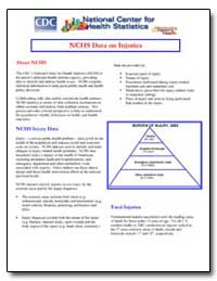 Nchs Data on Injuries by Department of Health and Human Services