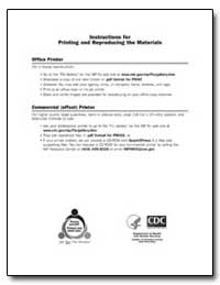 Instructions for Printing and Reproducin... by Department of Health and Human Services