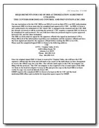 Requirements for Use of Irb Authorizatio... by Department of Health and Human Services