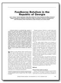 Foodborne Botulism in the Republic of Ge... by Varma, Jay K.