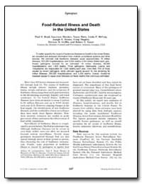 Synopses Food-Related Illness and Death ... by Mead, Paul S.