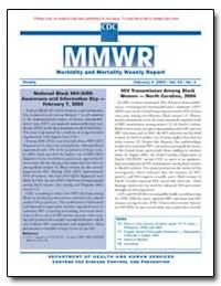 Hiv Transmission Among Black Women — Nor... by Gerberding, Julie Louise, M. D., M. P. H.