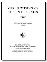 Vital Statistics of the United States 19... by Margulies, Harold, M. D.