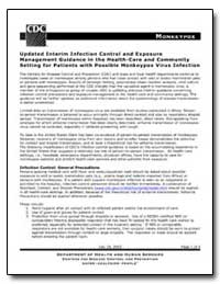 Updated Interim Infection Control and Ex... by Department of Health and Human Services