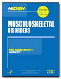 Musculoskeletal Disorders by Department of Health and Human Services