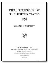 Vital Statistics of the United States 19... by Hoffman, Rita U.